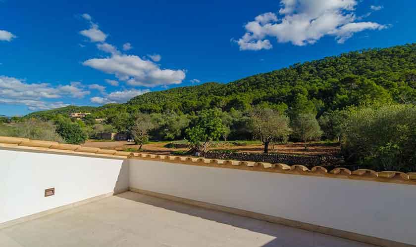 Dachterrasse Ferienvilla Mallorca 12 Personen PM 115