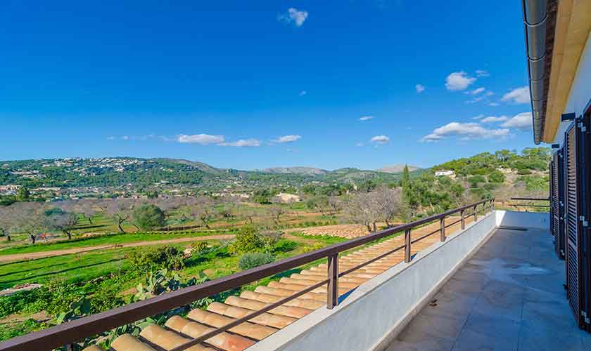 Balkon Ferienvilla Mallorca 12 Personen PM 115