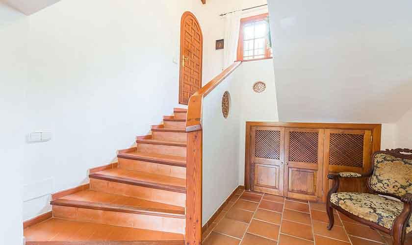 Stufen Schlafzimmer Finca Mallorca PM 120