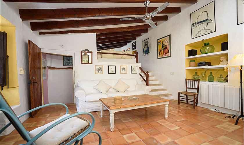 Wohnbereich Finca Mallorca PM 210