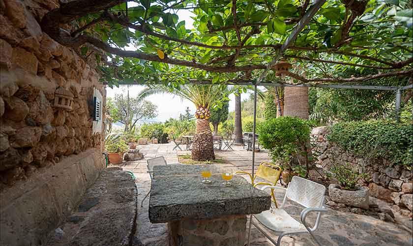 Terrasse Finca Mallorca PM 210