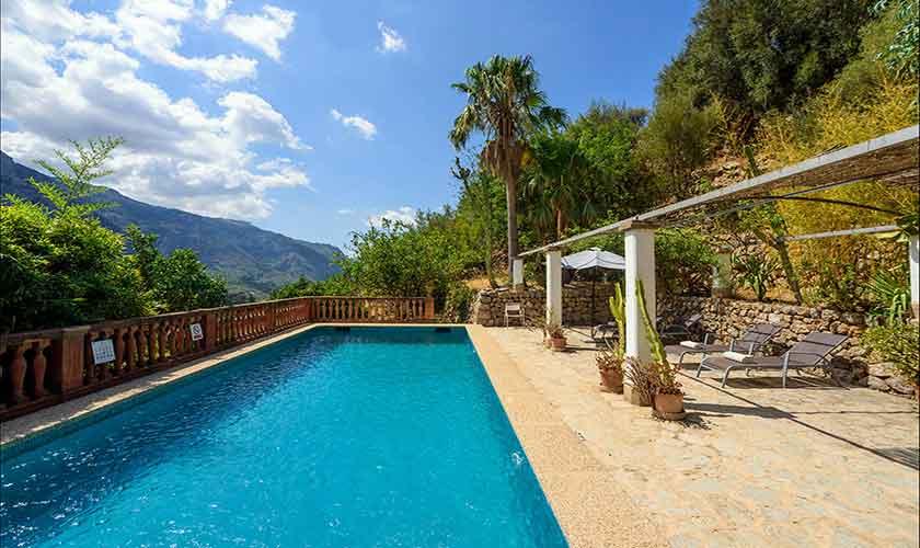Pool und Terrasse Finca Mallorca PM 210