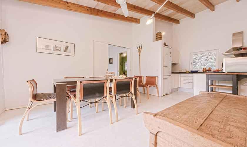 Esstisch Küche Finca Mallorca Westküste PM 225