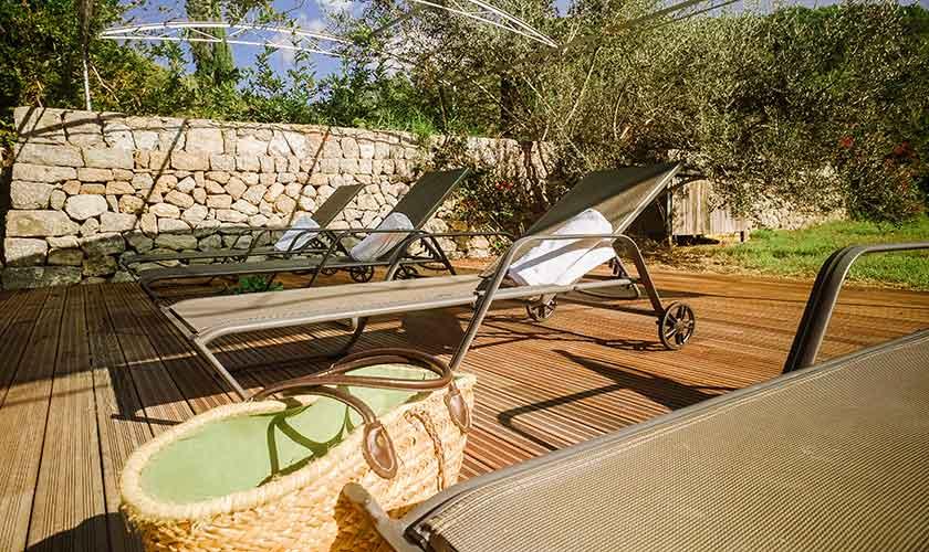 Liegestühle Finca Mallorca Westküste PM 225