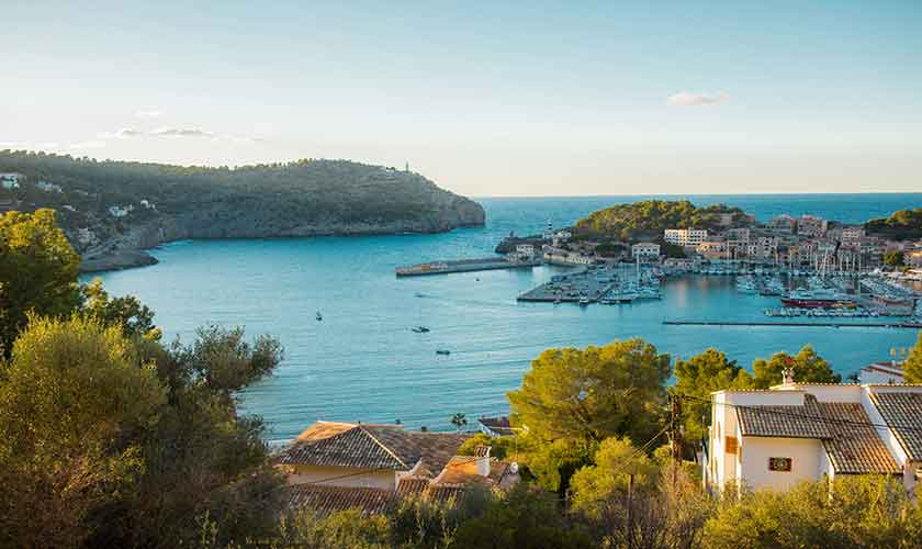 Meerblick Ferienhaus Mallorca PM 230