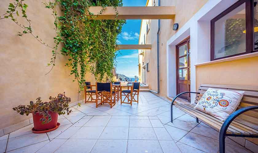 Terrasse und Grill Ferienvilla Mallorca PM 230