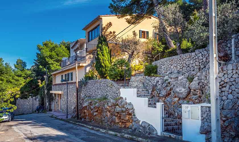 Blick auf die Ferienvilla Mallorca PM 230
