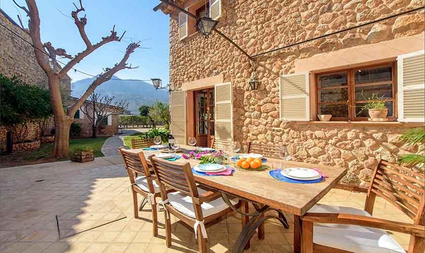 Terrasse Esstisch Finca Mallorca PM 235