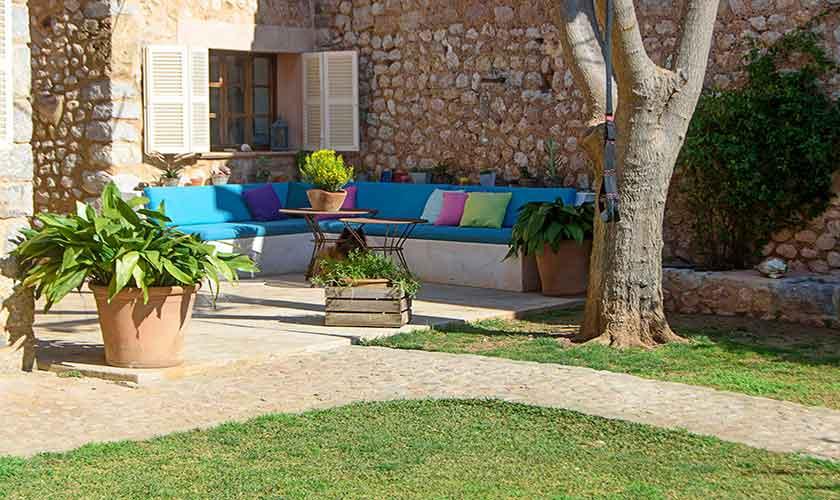 Terrasse Sofas Finca Mallorca PM 235