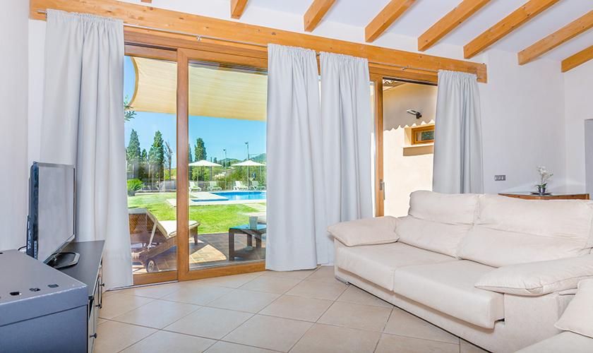Wohnraum Finca Mallorca für 6 Personen PM 3015