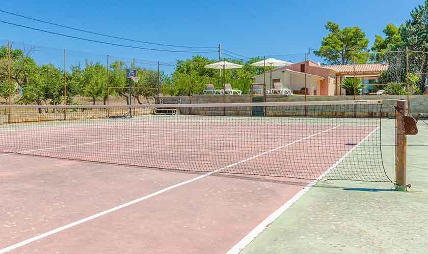 Tennisplatz Finca Mallorca für 6 Personen PM 3015