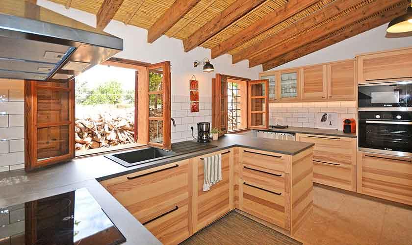 Küche Finca Mallorca 6 Personen PM 3038
