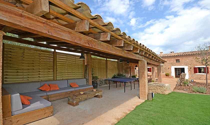 Terrasse und Finca Mallorca 6 Personen PM 3038