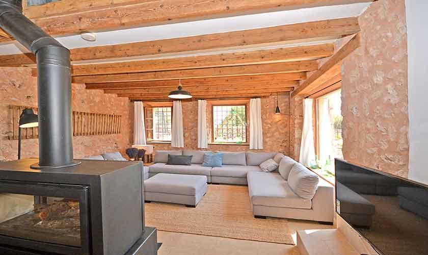 Wohnraum Finca Mallorca 6 Personen PM 3038