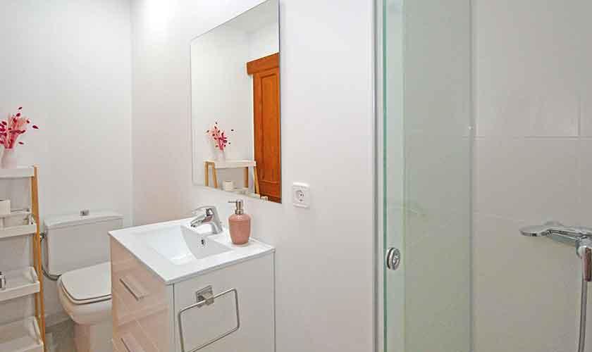 Badezimmer Finca Mallorca mit Pool PM 3070
