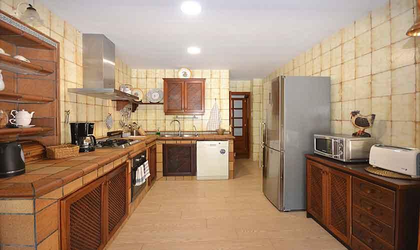 Küche Finca Mallorca mit Pool PM 3070