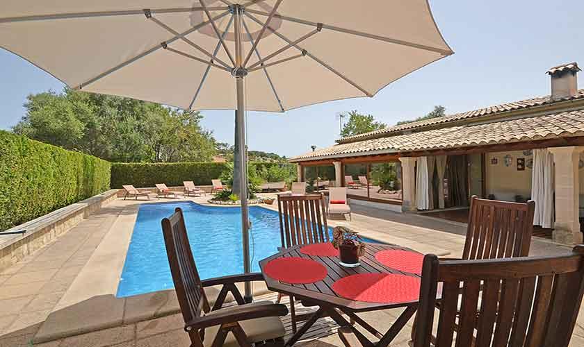 Pool und Terrasse Finca Mallorca mit Pool PM 3070