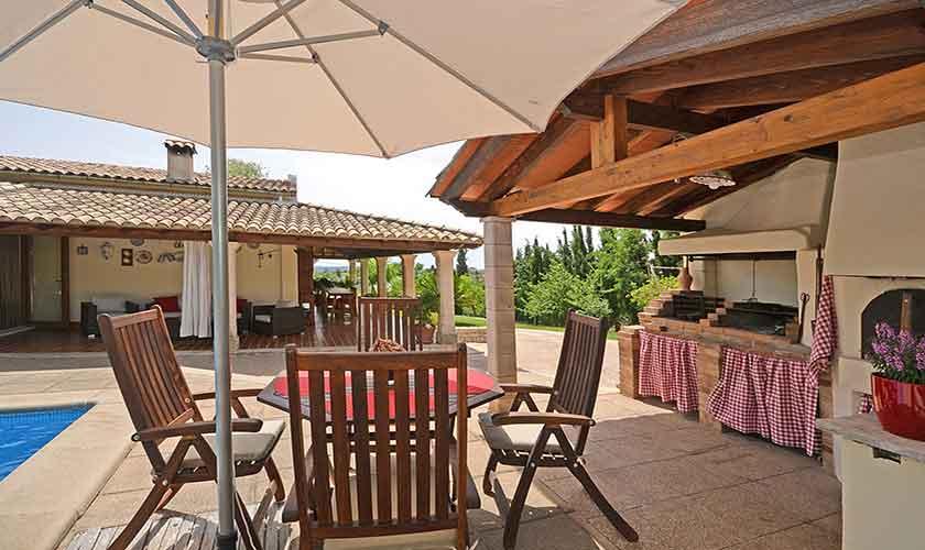Pool und Grillplatz Finca Mallorca mit Pool PM 3070