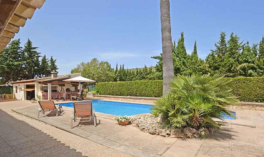 Pool und Terrasse Finca Mallorca PM 3070
