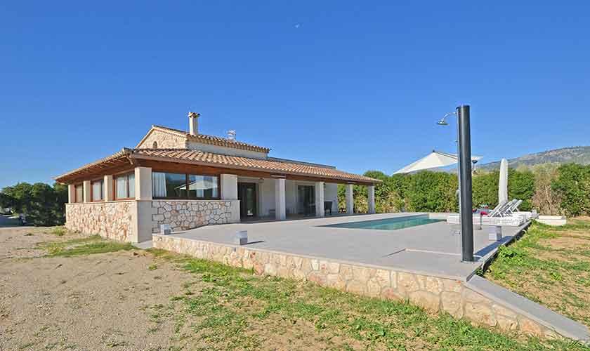 Pool und Finca Mallorca Norden PM 3121