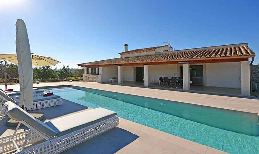 Pool und Ferienfinca Mallorca Norden PM 3121