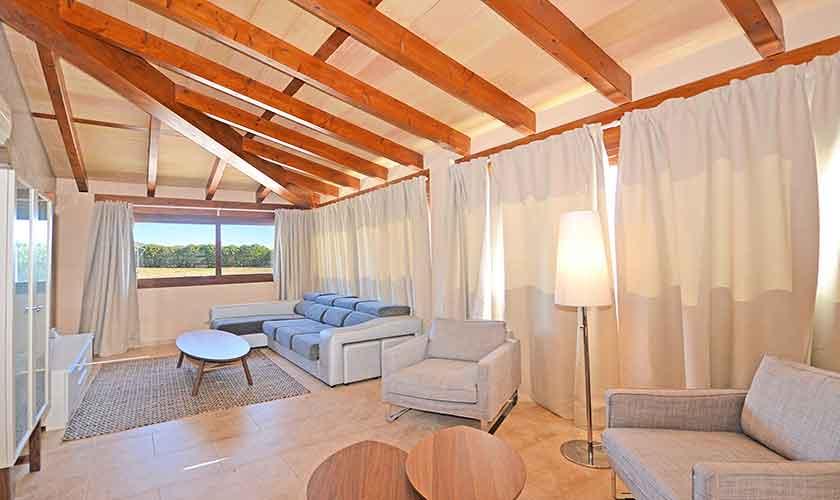Wohnraum Finca Mallorca Norden PM 3121