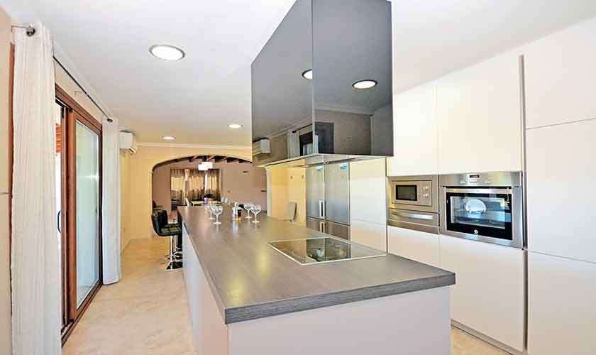 Küche Finca Mallorca Norden PM 3121