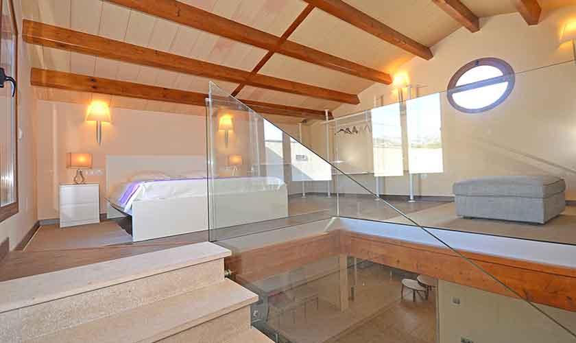 Schlafzimmer Finca Mallorca Norden PM 3121
