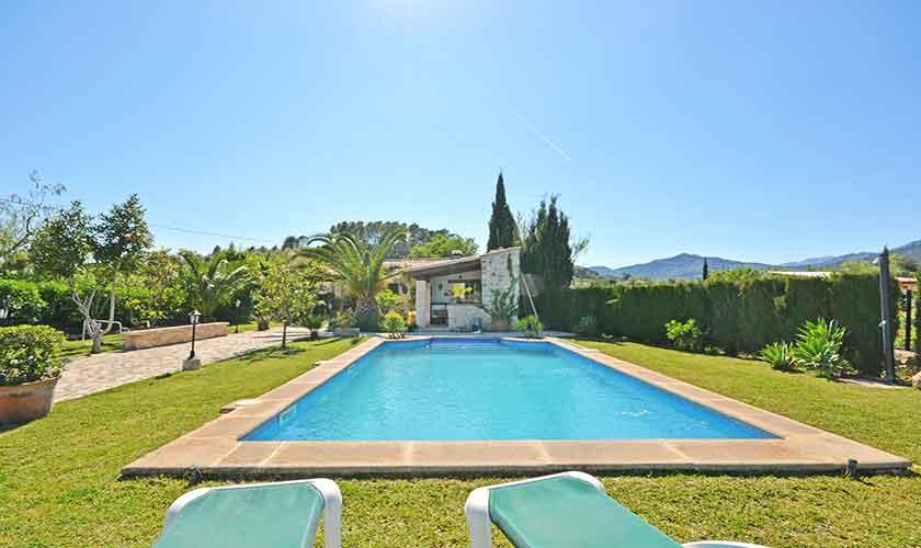 Pool und Finca Mallorca Norden PM 3126