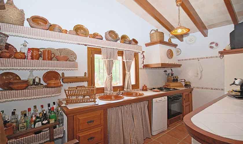 Küche Finca Mallorca Norden PM 3126