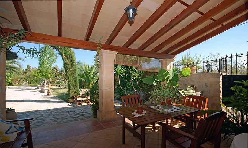 Terrase Finca Mallorca Norden PM 3126