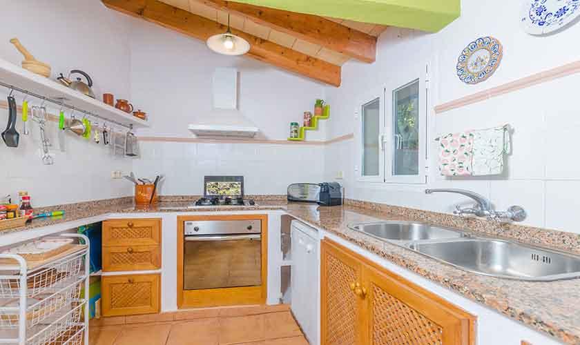 Küche Finca Mallorca Norden PM 3150