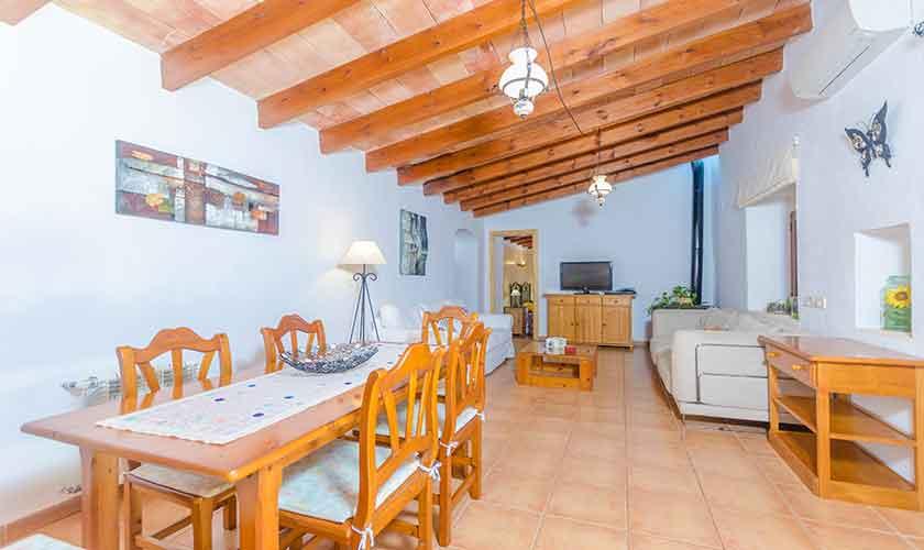 Wohnraum Finca Mallorca Norden PM 3150