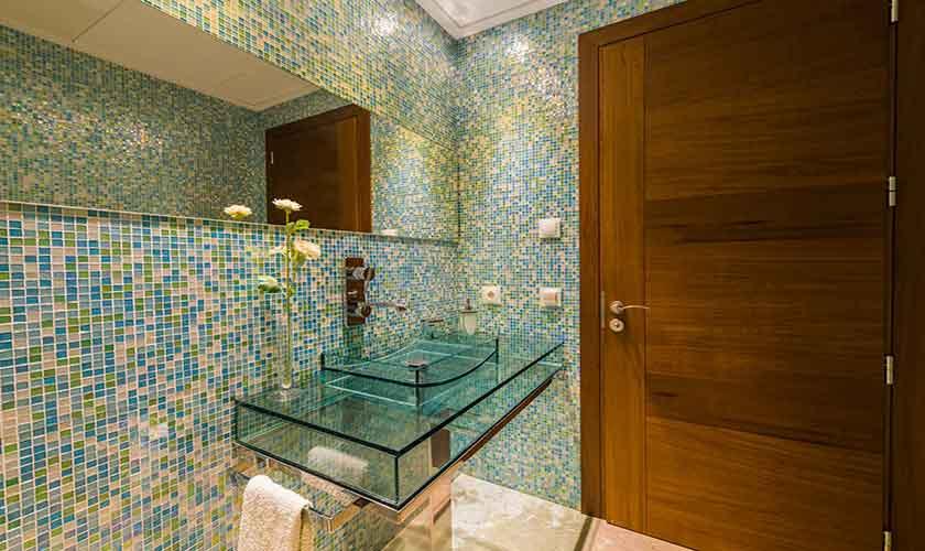 Badezimmer Gästehaus Finca Mallorca PM 320