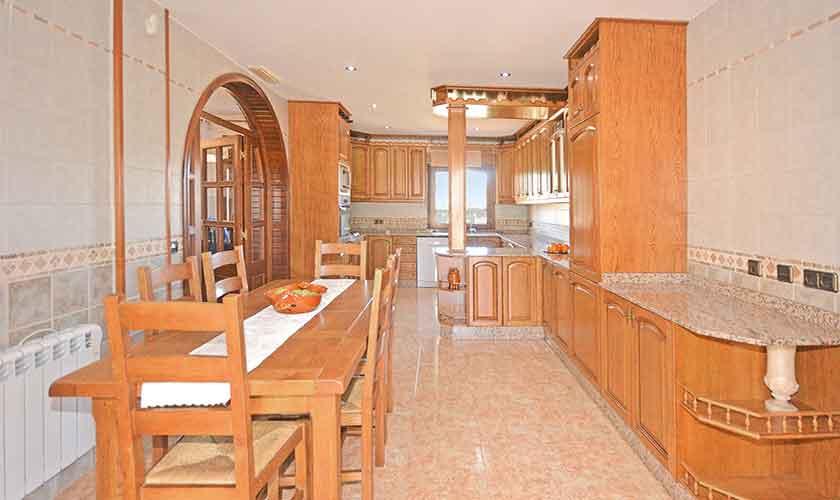 Küche Ferienhaus Mallorca Norden PM 3222
