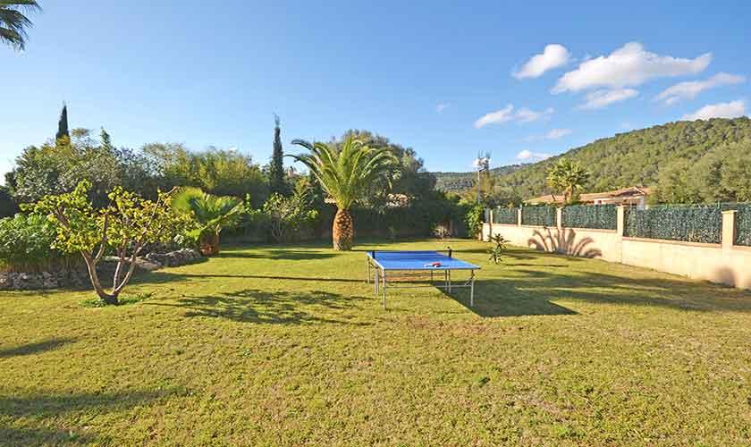 Garten Ferienhaus Mallorca Norden PM 3222