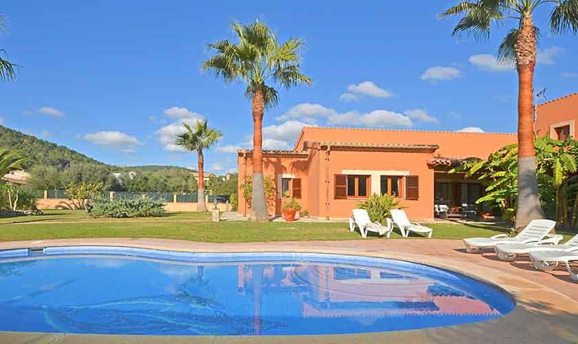 Pool und Ferienhaus Mallorca Norden PM 3222