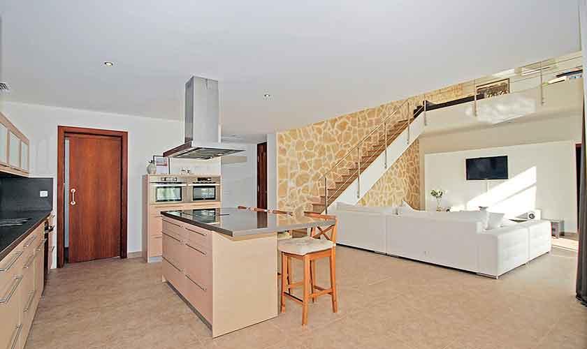 Küche Ferienhaus Mallorca Norden PM 3223