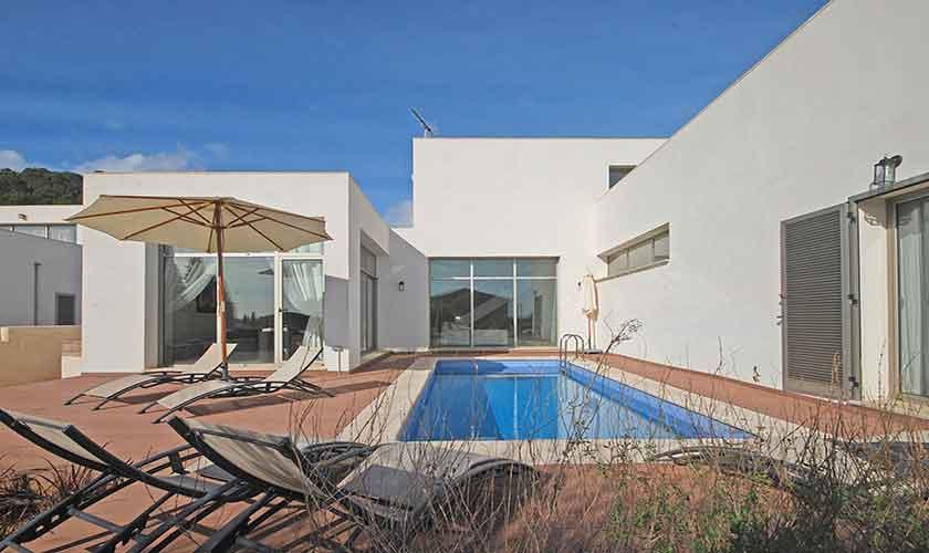 Pool und Ferienhaus Mallorca Norden PM 3223