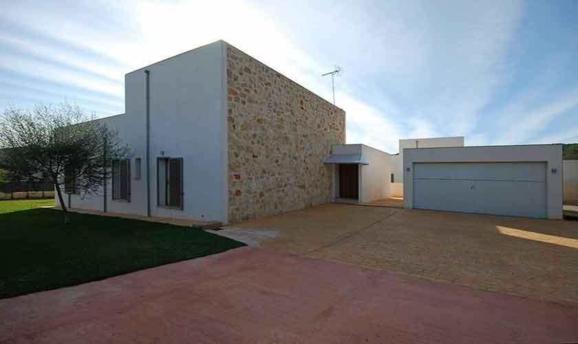 Blick auf das Ferienhaus Mallorca Norden PM 3223