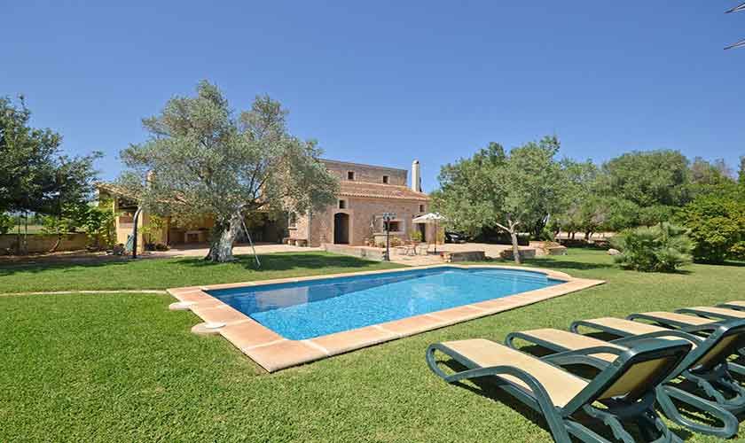 Pool und Garten Finca Mallorca PM 3224