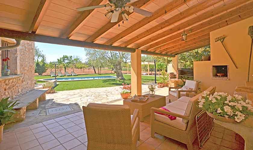 Lounge Terrassse Finca Mallorca PM 3224