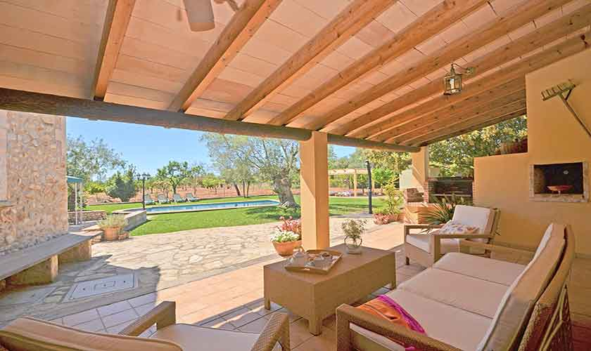 Terrasse Finca Mallorca PM 3224