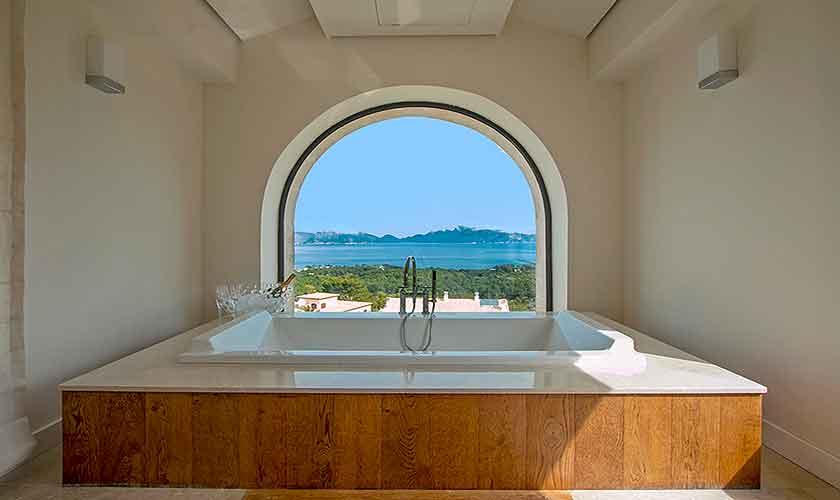 Badezimmer mit Meerblick Luxusfinca Mallorca PM 3300