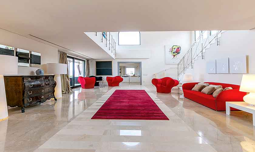 Wohnraum Luxusvilla Mallorca Norden PM 3300