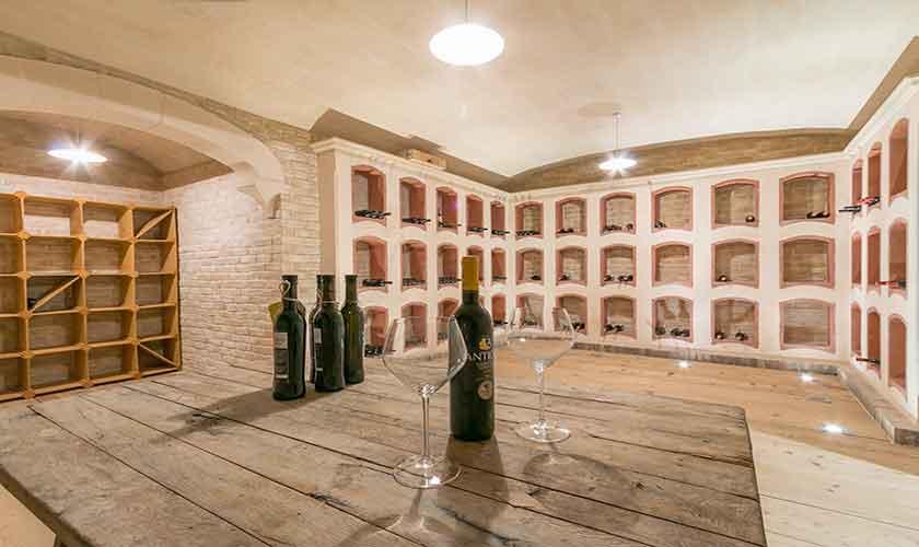 Weinkeller Luxusfinca Mallorca PM 3300