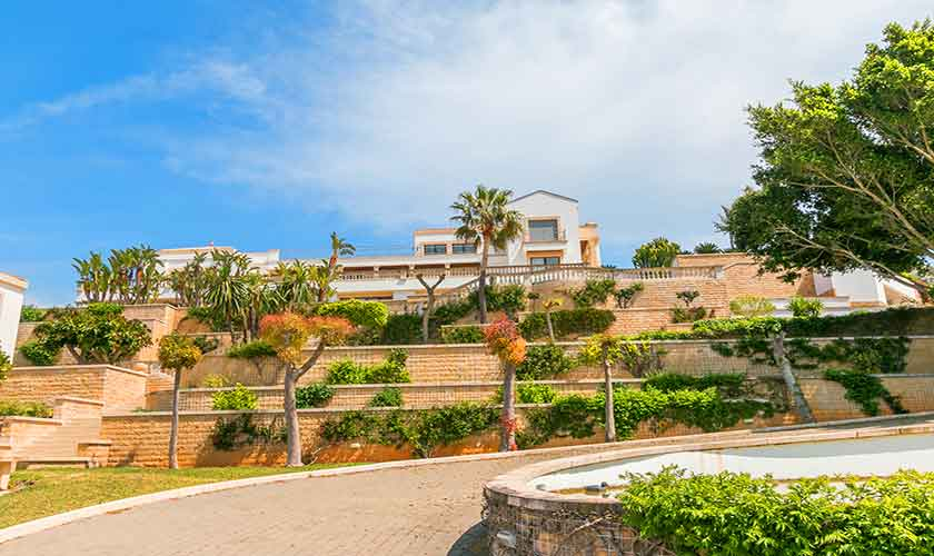 Blick auf die Luxusvilla Mallorca PM 3300