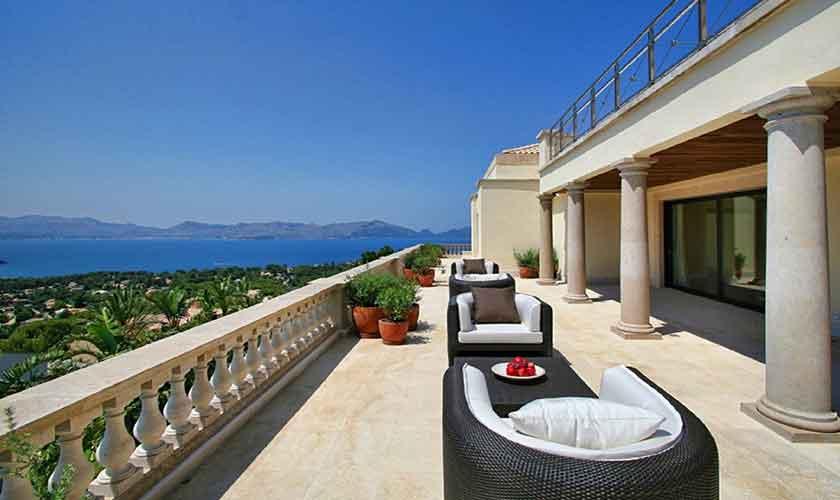 Terrasse Luxusfinca Mallorca PM 3300
