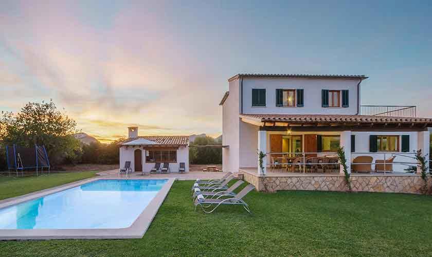 Abendlicht Ferienhaus Mallorca Norden PM 3318