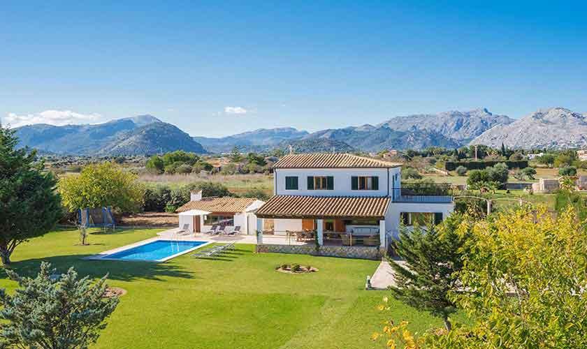 Garten und Landschaft Ferienhaus Mallorca Norden PM 3318